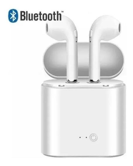 Fone Bluetooth I7s Tws Sem Fio Double Bass Com Microfone