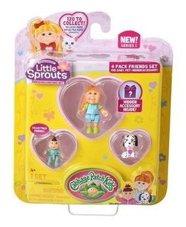 Little Sprouts Cabbage Patch Kids Set X 4 Muñecos
