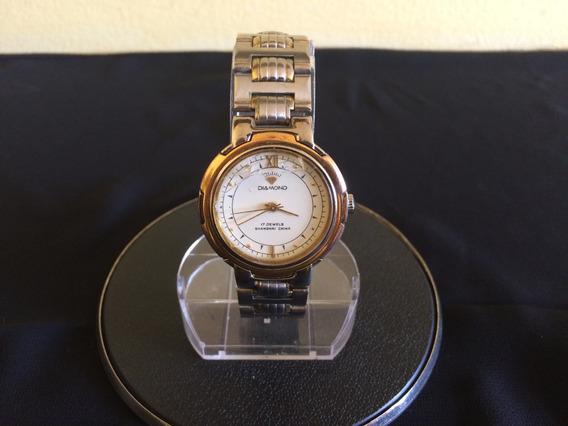 Relógio De Pulso Masculino Diamond A Corda
