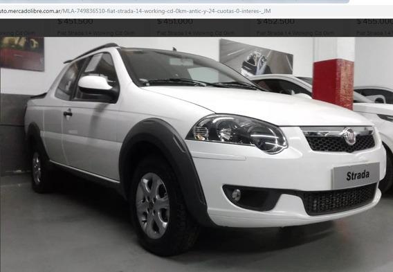 Fiat Strada 1.4 Working Cd Oferta Contado Mc