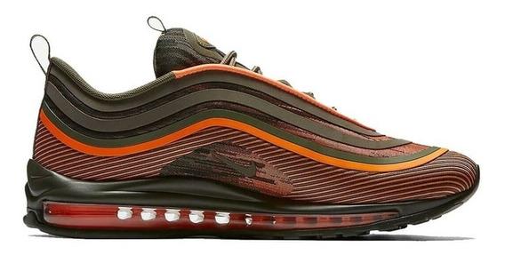 Tenis Nike Air Max 97 Ultra Naranja/negro - 918356 801