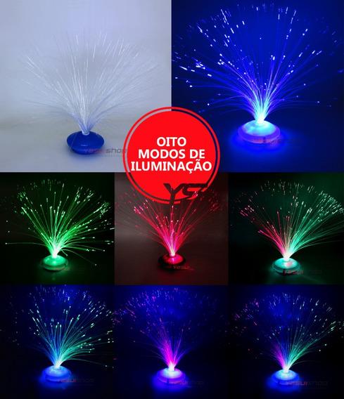 Luminaria Led Abajur Brilha Escuro Luz Florescente Neon 3pçs