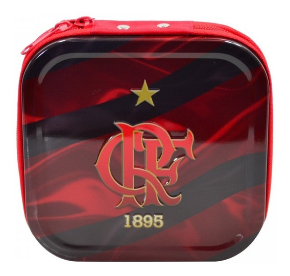 Porta Cd Metal Para 24 Cds - Flamengo