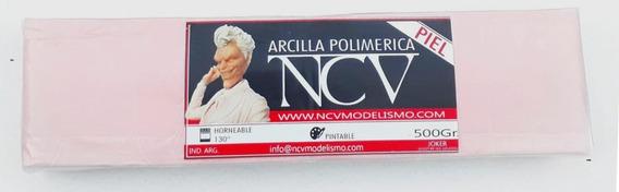 500gr Ncv! Nueva Arcilla Polimerica Piel 500gr Horneable!