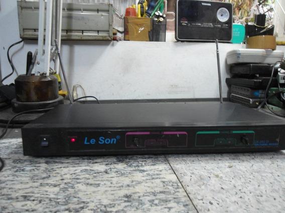 Le Son - Twin-channel Receiver Ls-202d - No Estado
