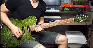 Video Aula Guitarra Curso Balada Rock 20 Licks Melodicos