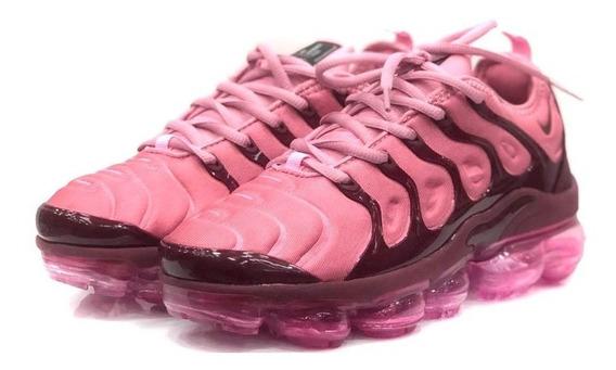 Tênis Nike Vapor Max Plus Cores Femininas Envio Em 24 Hrs !!