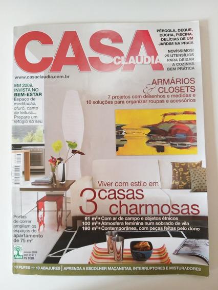 Revista Casa Claudia 569 De Janeiro De 2009