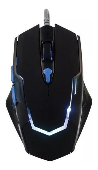 5 Unidades Mouses Gamer 3200dpi Com Mouse Pad Sumay 3200dpi