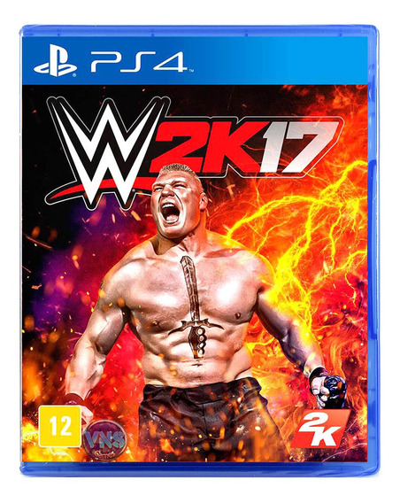 Wwe 2k17 - Ps4 - Playstation 4 - Novo - Mídia Física Lacrado