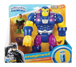 Figura Imaginext Mongul Y Linterna Verde Fisher Price
