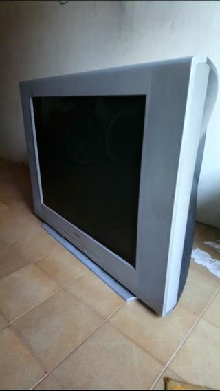 Tv Sony Triniton Retrô Tela Plana 34 Pol