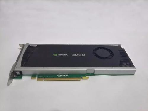 Placa De Video Nvidia Quadro 4000 Perfeita 256 Bits 2gb Ddr5