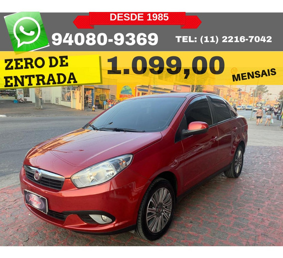 Fiat Grand Siena 1.4 Attractive 2015 2016 Zero De Entrada