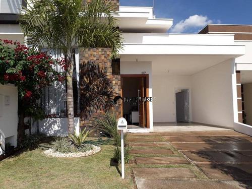 Casa Com 3 Dormitórios À Venda, 114 M² Por R$ 552.000,00 - Condomínio Villagio Milano - Sorocaba/sp - Ca0793