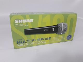Microfono Shure Sv100 Dinamico Con Cable