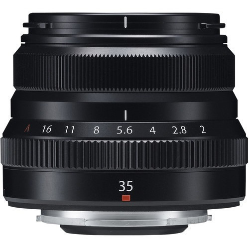 Imagem 1 de 4 de Lente Fujifilm Xf 35mm F/2 R Wr Preta