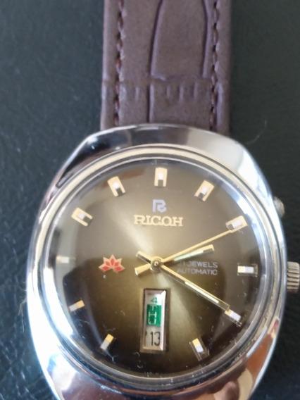 Relógio Ricoh Vintage Original Lindo!!!