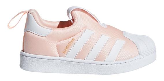 Zapatillas adidas Originals Moda Superstar 360 I Bebe Sa/bl