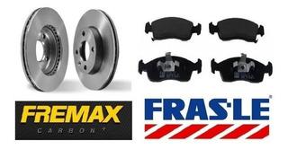 Kit Discos Fremax Y Pastillas Frasle Classic 10/ Cuotas