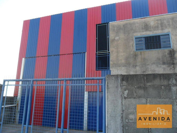 Barracão Comercial À Venda, Jardim Ypê, Paulínia. - Ba0031