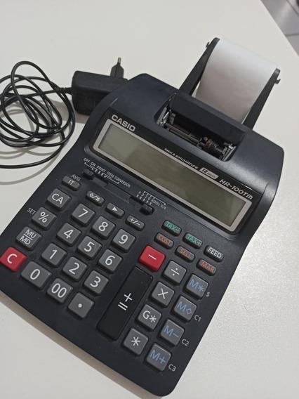 Calculadora C/ Bobina Hr-100 + Fonte Bivolt