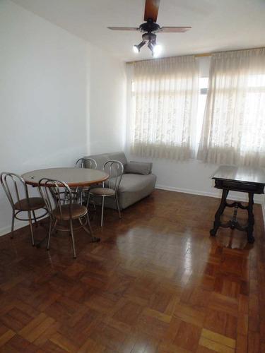 Apartamento Com 1 Dorm, Boqueirão, Santos - R$ 230 Mil, Cod: 1258 - V1258