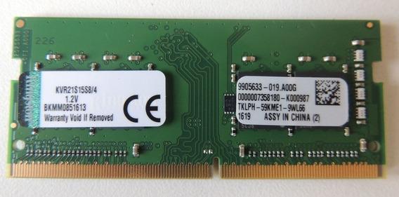 Memoria 4gb Ddr4 Para Notebook Dell Inspiron I15 3567 D10p