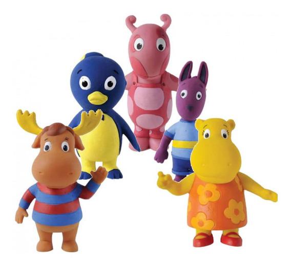 Kit 5 Brinquedos Back Yardgans Em Látex - Latoy