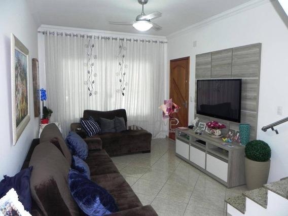 Sobrado Com 2 Dormitórios À Venda, 150 M² Por R$ 500.000 - Suíço - São Bernardo Do Campo/sp - So0321