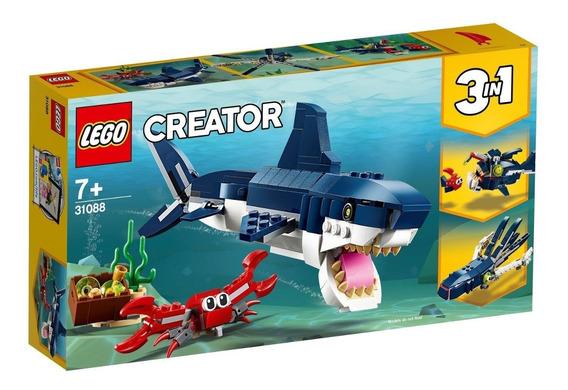 Lego Creator Criaturas Do Fundo Do Mar 3 Em 1 31088