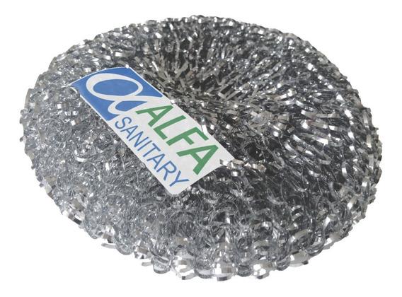Fibra Metalica Acerina Redonda Limpieza Hornos Y Parrilas