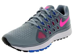 Tênis Nike Zoom Vomero 9 Corrida Running Cinza Original