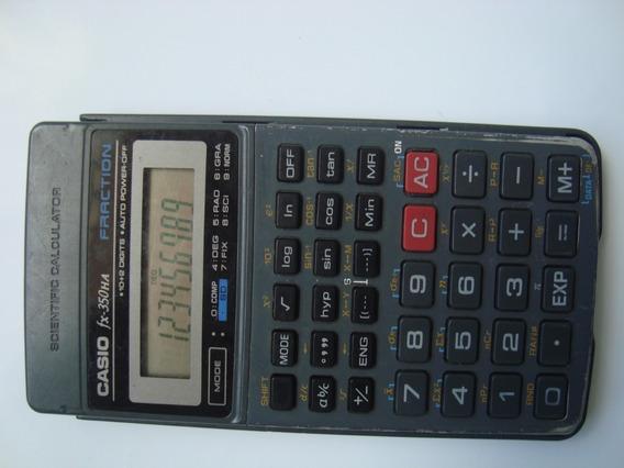 Calculadora Científica Casio Modelo Fx-350ha Fraction Usada