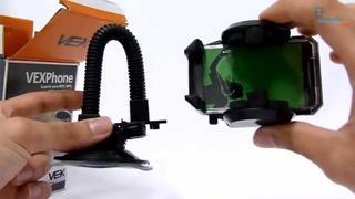 Suporte Porta Gps Hud Celular Universal 4,5-10-5cm Largura