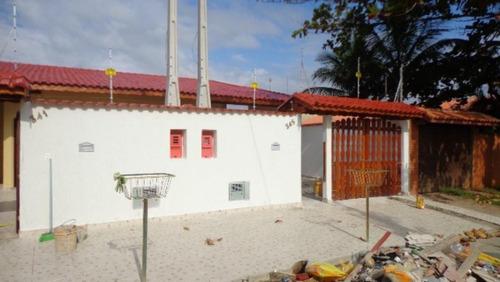 Casa A 300 Metros Do Mar No Bopiranga Em Itanhaém - 3713|npc