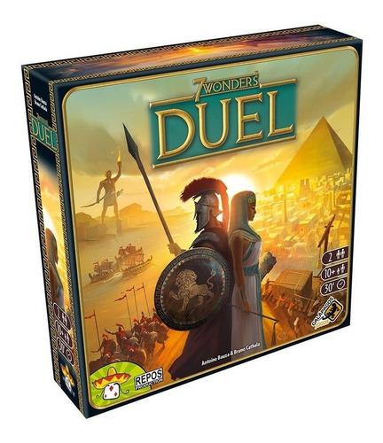 Imagem 1 de 4 de 7 Wonders Duel Board Game Jogo De Tabuleiro Galápagos Jogos