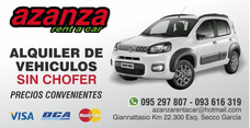 Alquilo Autos Cel. 093 616 319. Fiat Way. Spark.
