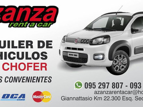 Alquilo Autos Cel. 093 616 319. Fiat Way. Spark.