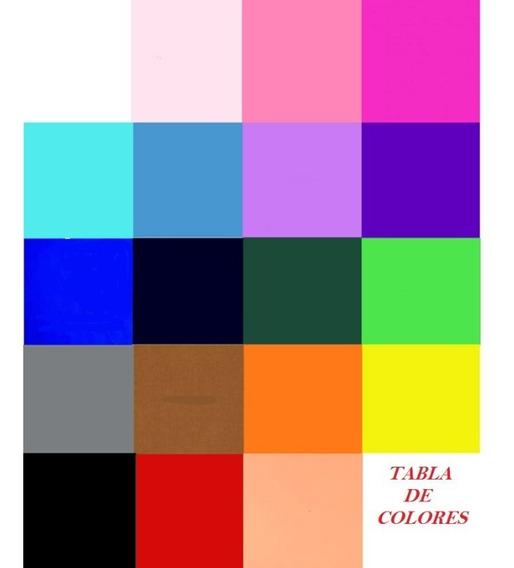 Papel Crepe 19 Colores - 24 Gramos - Pack X 10u. X Color