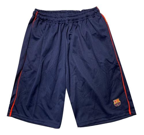Short De Futbol Barcelona Pantalon Bermudas Entrenamiento