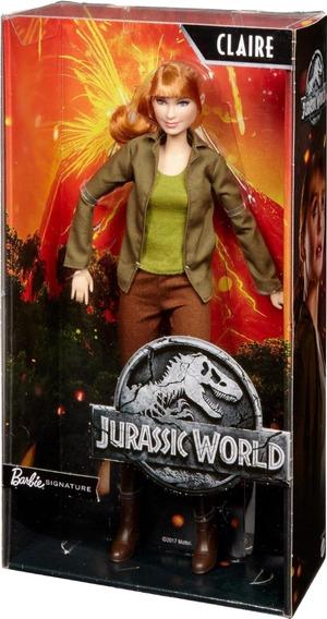 Barbie Jurassic World Claire Doll - Blusa Um Pouco Desfiada