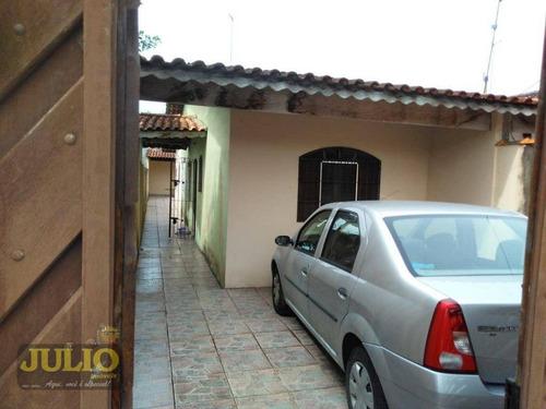 Imagem 1 de 14 de Casa À Venda, 65 M² Por R$ 180.200,00 - Flórida Mirim - Mongaguá/sp - Ca3457