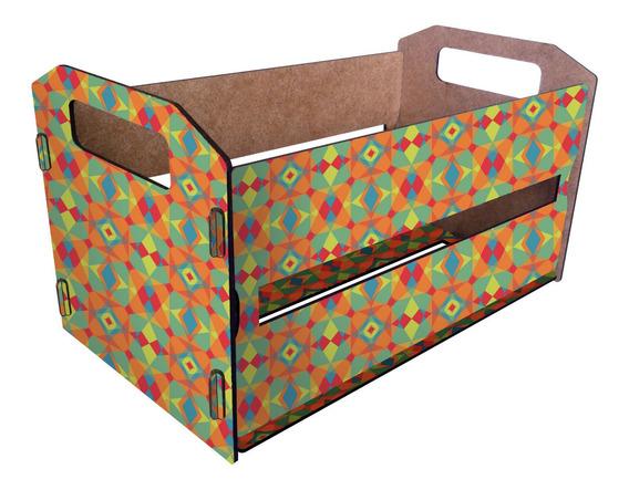 3 Canasto Organizador De Madera Cajón Tipo Verdulero Pack 3