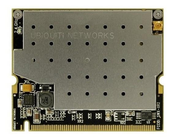 Placa Wifi Ubiquiti Minipci 600 Mw 2.4 Ghz Conector Mmcx 29