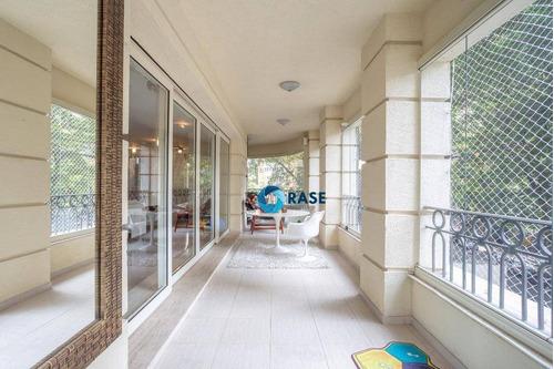 Imagem 1 de 24 de Lindo Apartamento Com 3 Dormitórios Para Alugar, 306 M² Por R$ 30.000/mês - Jardim Paulistano - São Paulo/sp - Ap11033