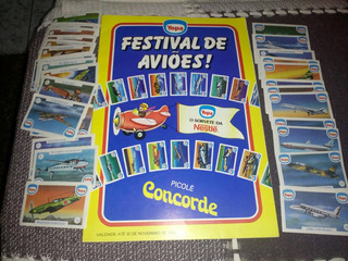 Album De Figurinhas Yopa Festival De Aviões
