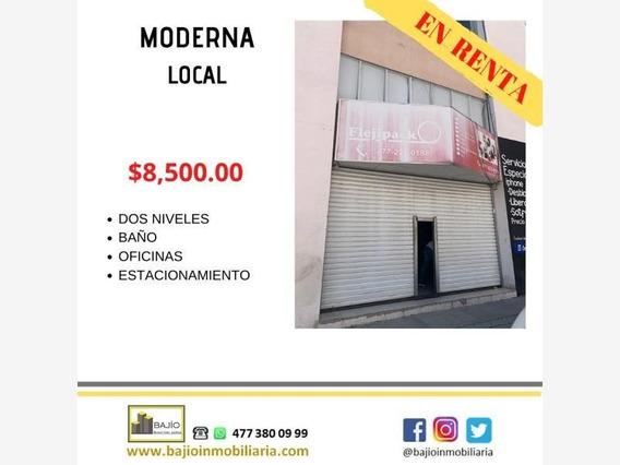 Local Comercial En Renta Moderna