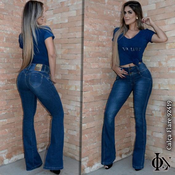 Calça Flare On Line, Mesma Industria Rhero Jeans. Col 2018.