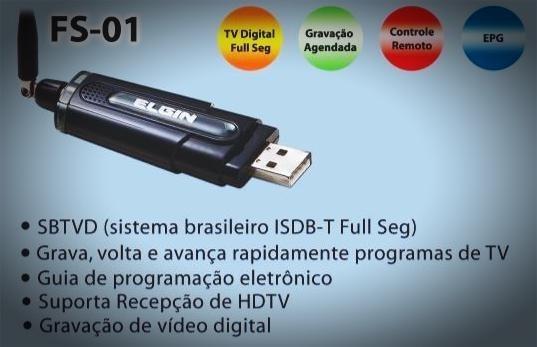 Receptor De Tv Digital Fs 01 - Elgin
